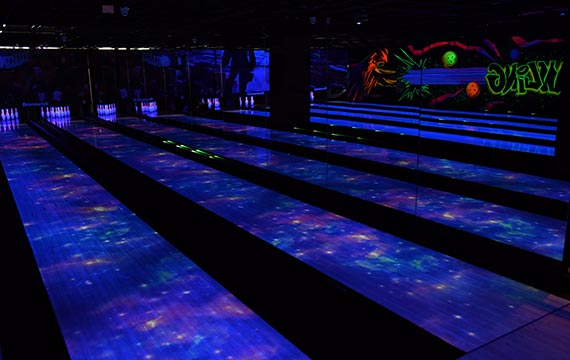 Magic Bowling Alley